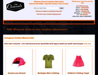 1stchoicesurplusmerchandise.com screenshot