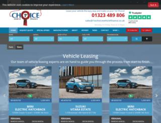 1stchoicevehiclefinance.co.uk screenshot