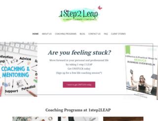1step2leap.com screenshot