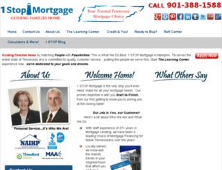 1stopmortgage.net screenshot
