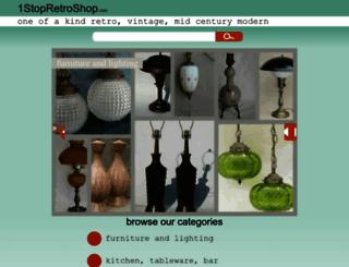 1stopretroshop.com screenshot