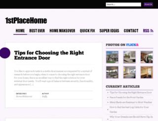 1stplacehome.com screenshot