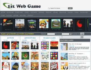 1stwebgame.com screenshot