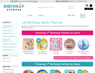 1stwishes.com screenshot