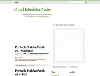 1sudokuspot.blogspot.com screenshot