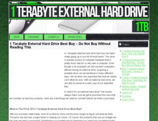 1terabyteexternalharddrive.org screenshot