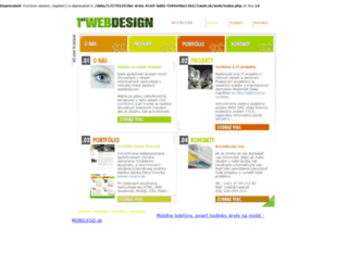 1web.sk screenshot