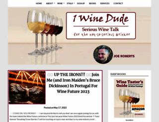 1winedude.com screenshot
