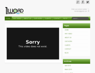 1wordpro.com screenshot