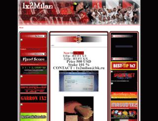 1x2milan.blogspot.com screenshot