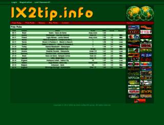 1x2tip.info screenshot