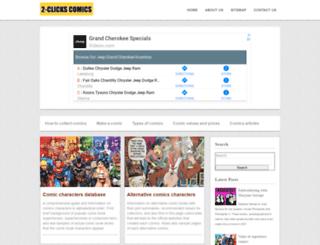 2-clicks-comics.com screenshot