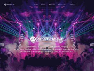 20-music.com screenshot