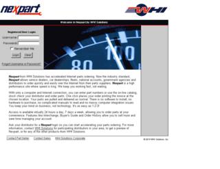 2000100.nexpart.com screenshot