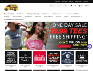 2008tshirts.com screenshot