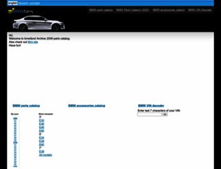 2009.bmwfans.info screenshot