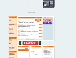 2009.redesul.com.br screenshot