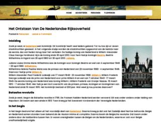 200jaarkoninkrijk.nl screenshot