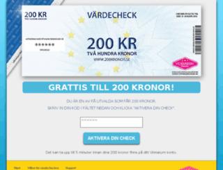 200kronor.se screenshot