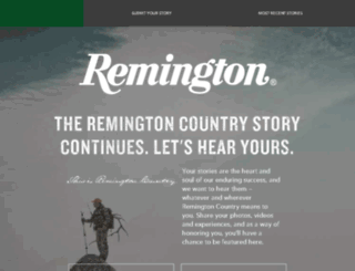 200sweepstakes.remington.com screenshot