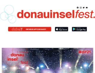 2011.donauinselfest.at screenshot