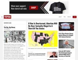 2012.talkingpointsmemo.com screenshot