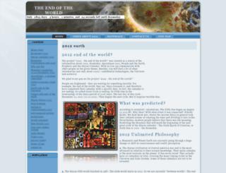 2012earth.net screenshot