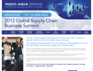 2012globalsupplychainbusinesssummit.com screenshot