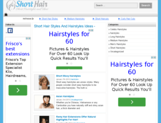 2012hairstyles.com screenshot