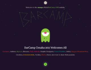 2013.barcampomaha.org screenshot