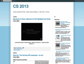 2013cs.blogspot.com screenshot