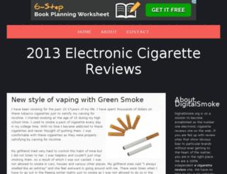2013electroniccigarettereviews.bravesites.com screenshot