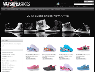 2013suprakicks.com screenshot