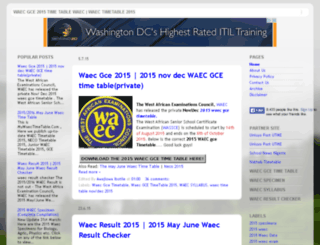 2013waectimetable.blogspot.com screenshot