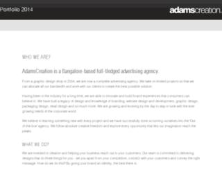 2014.adamscreation.com screenshot