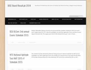 2014.boardresult.net.pk screenshot