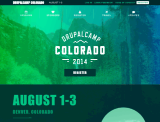2014.drupalcampcolorado.org screenshot