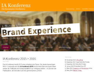 2014.iakonferenz.org screenshot