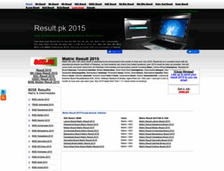 2015.result.pk screenshot