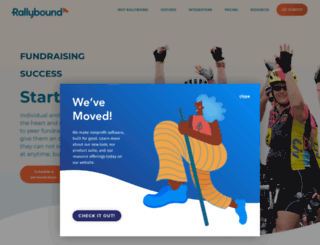 2015bikeforbancroft.rallybound.com screenshot