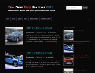 2015carsreviews.com screenshot