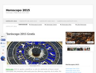 2015horoscopo2015.com screenshot