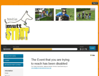 2015muttstrut.kintera.org screenshot