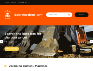 2016.epic-auctions.com screenshot