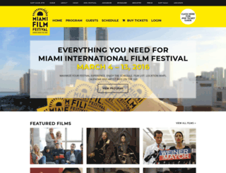 2016.miamifilmfestival.com screenshot