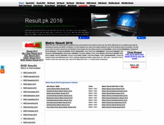 2016.result.pk screenshot