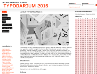 2016.typodarium.de screenshot