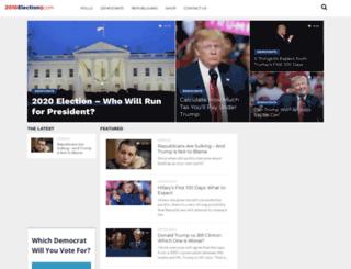 2016election.com screenshot