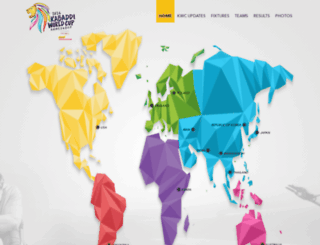 2016kabaddiworldcup.com screenshot