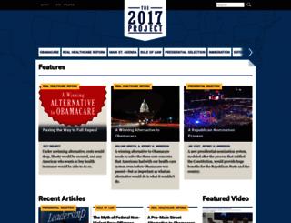 2017project.org screenshot